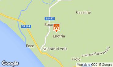 Mappa Ascea Appartamento 98393
