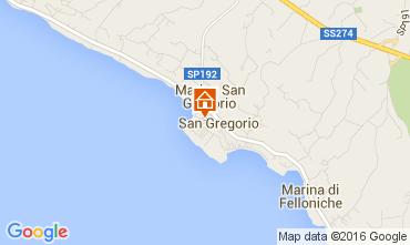 Mappa Santa Maria di Leuca Casa 104045