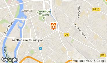 Mappa Tolosa Appartamento 92820