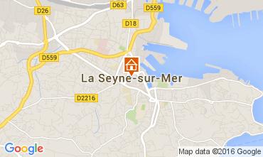 Mappa La Seyne sur Mer Villa  95455