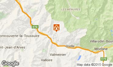 Mappa Saint Jean de Maurienne Agriturismo 68664