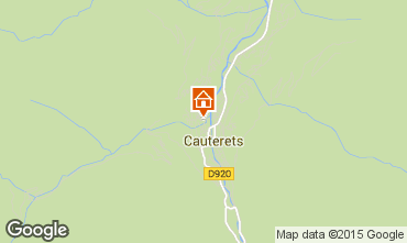 Mappa Cauterets Appartamento 4059