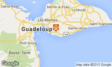 Mappa Gosier (Guadalupa) Bungalow 8003