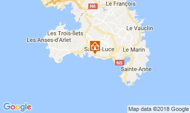 Mappa Sainte Luce Bungalow 114766