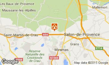 Mappa Salon de Provence Agriturismo 77630