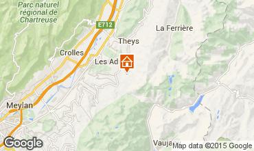 Mappa Les Sept Laux Appartamento 96933