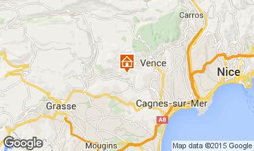 Mappa Vence Villa  90446