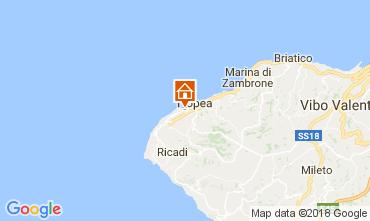 Mappa Tropea Appartamento 105748