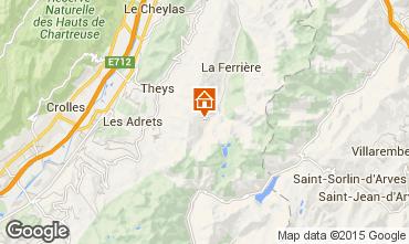 Mappa Les Sept Laux Monolocale 2807