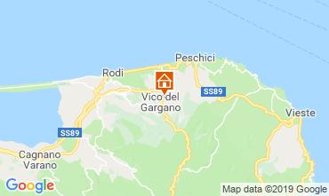 Mappa Gargano Appartamento 118722