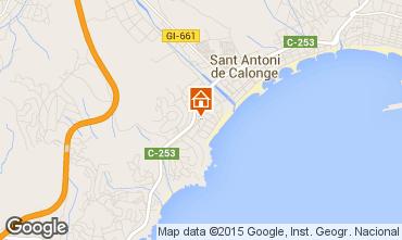 Mappa Sant Antoni de Calonge Casa 63686