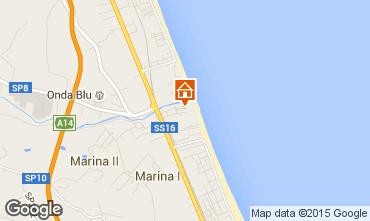 Mappa Giulianova Monolocale 84257