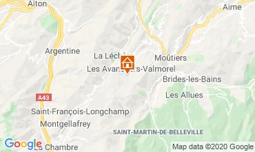 Mappa Valmorel Appartamento 49915