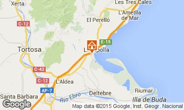 Mappa L'ampolla Villa  101811