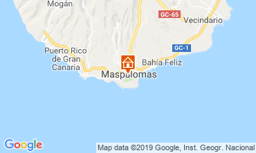 Mappa Maspalomas Appartamento 104988