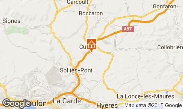 Mappa Hyères Villa  45657