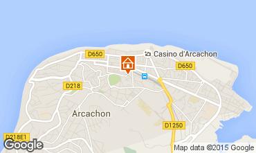Mappa Arcachon Appartamento 60086