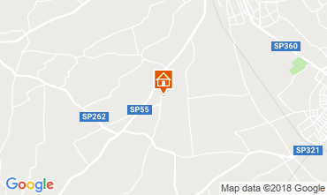 Mappa Matino Villa  116327