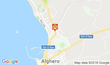Mappa Alghero Appartamento 87873