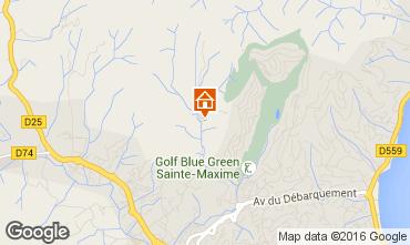 Mappa Sainte Maxime Villa  103264