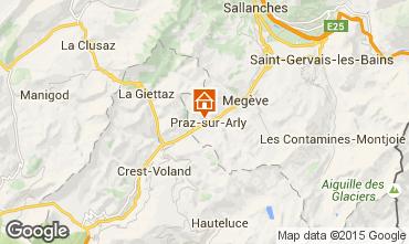Mappa Praz sur Arly Appartamento 73196
