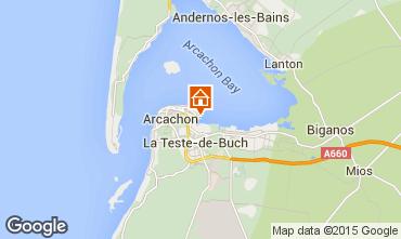 Mappa Arcachon Appartamento 81764