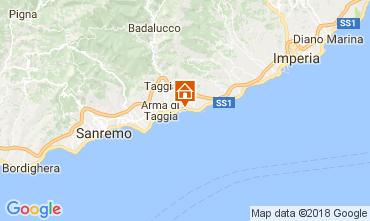 Mappa Santo Stefano al Mare Monolocale 112994