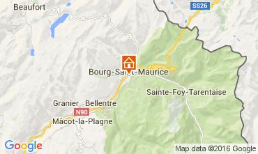 Mappa Bourg saint Maurice Appartamento 106036