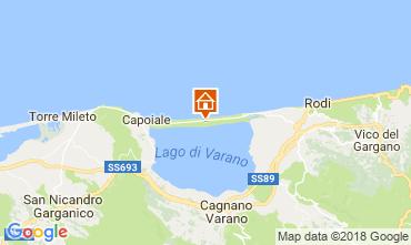 Mappa Ischitella Appartamento 115435