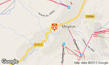 Mappa Megève Appartamento 21360
