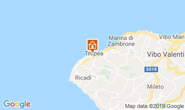 Mappa Tropea Appartamento 113977