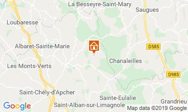 Mappa Le Malzieu-Forain Agriturismo 11874