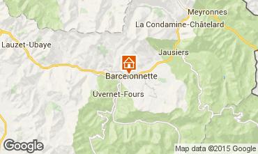 Mappa Barcelonnette Villa  101058