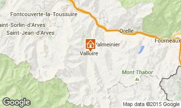 Mappa Valloire Appartamento 79621