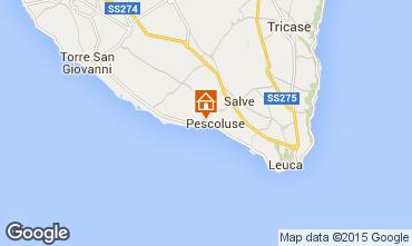 Mappa Pescoluse Appartamento 86954
