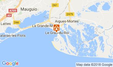 Mappa Le Grau du Roi Appartamento 108003