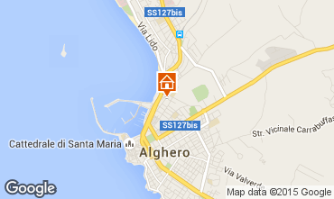 Mappa Alghero Appartamento 54272