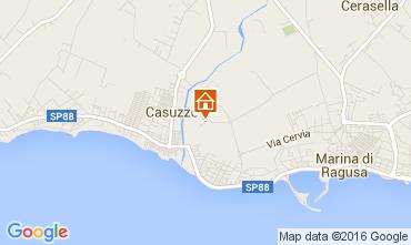 Mappa Marina di Ragusa Appartamento 104383