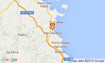 Mappa San Teodoro Casa 104897