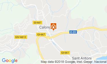 Mappa Calonge Villa  54458