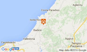 Mappa Isola Rossa Appartamento 60142