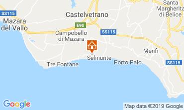 Mappa Triscina Villa  117906