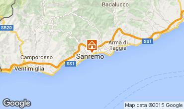 Mappa Sanremo Appartamento 72602