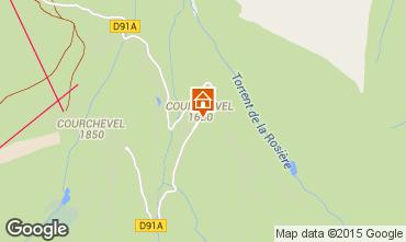 Mappa Courchevel Appartamento 58749
