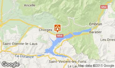 Mappa Réallon Chalet 2488