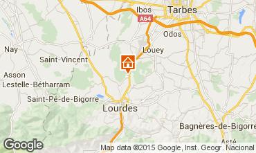 Mappa Lourdes Monolocale 14408