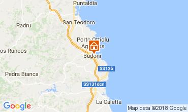 Mappa Budoni Appartamento 111655
