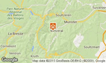 Mappa Colmar Chalet 27574