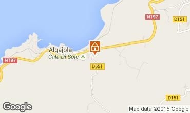 Mappa Algajola Appartamento 95441