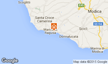 Mappa Marina di Ragusa Bungalow 94581